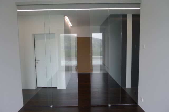 Doppelschiebetür Glas glasfinder / innenanwendungen / glasschiebetüren – keller glas