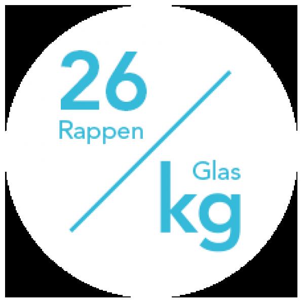 Der aktuelle Energiekosten-Tarif beträgt 26 Rp/kg.